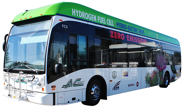 AC Transit Fuel Cell Electric Bus
