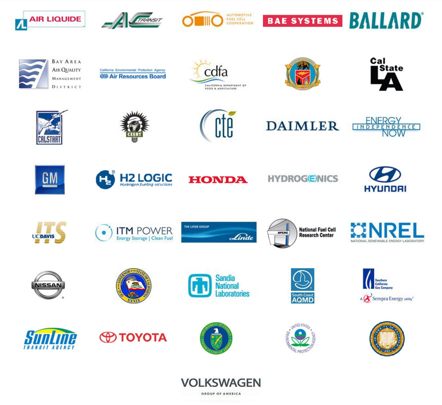 California Fuel Cell Partnership members